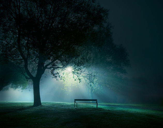 Alone-Night Photography