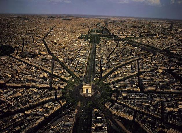 Charles de Gaulle Etoile square-Paris-France