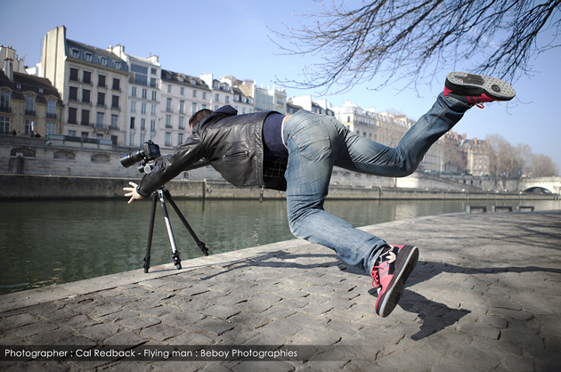 cal-redback-Flying man