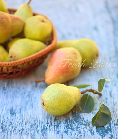 fresh fruits photos-pears