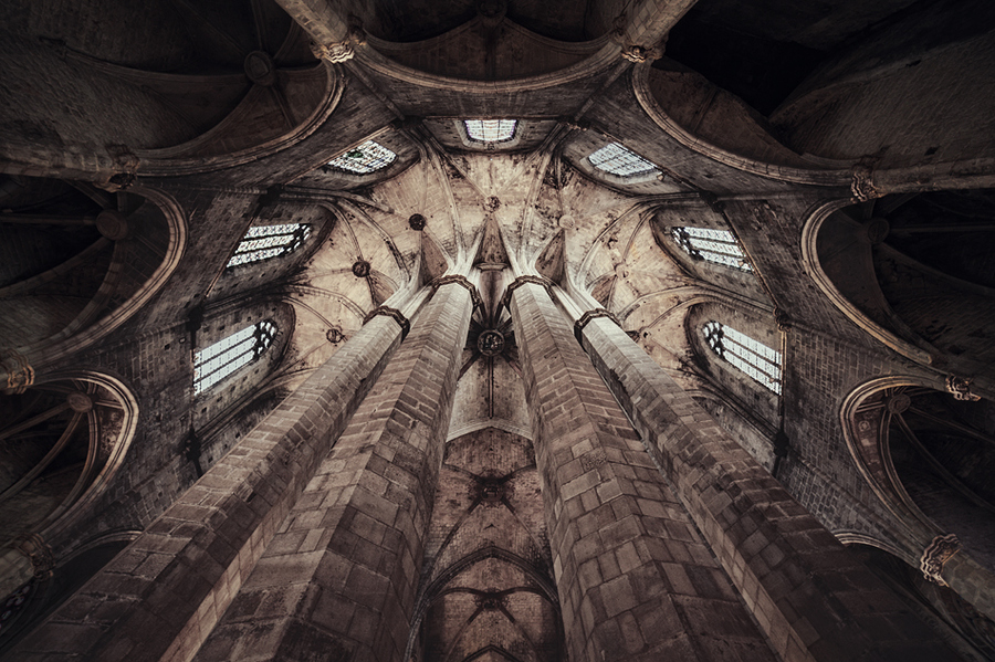 The saint church - barcelona - spain by Martin Marcisovsky