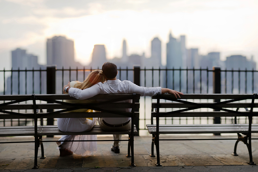 Love and Skylines by Ryan Brenizer Beautiful Lovers Photography