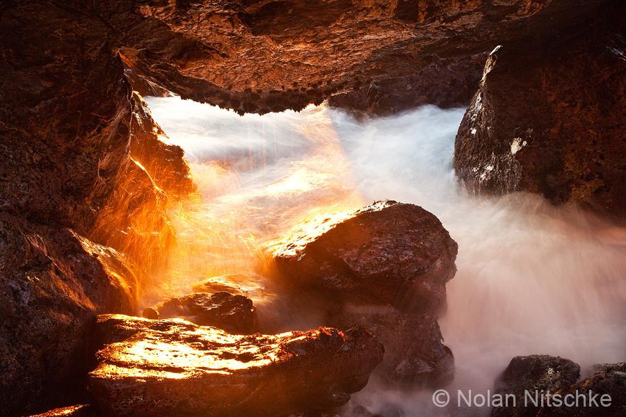 Catalina Cave by Nolan Nitschke - Catalina Island