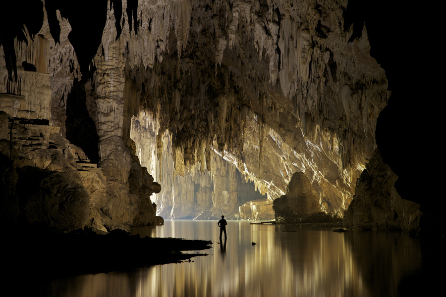 Exploring Lod Cave by john spies - Mae Hong Son Province - Thailand