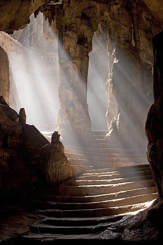 Khao Luang Cave temple by Craig Ferguson Phetchaburi - Thailand.