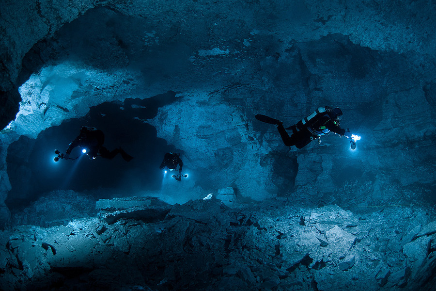 Orda Cave by Viktor Lyagushkin - Perm- Russia