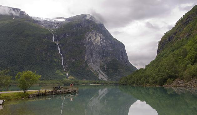 Ramnefjellsfossen - Sogn Og Fjordane - Norway - 2,685 feet (818 m)
