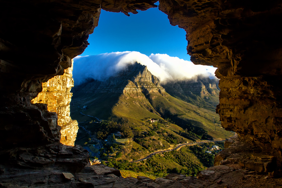 The Cave on High by Andy Beirne - South Africa Table Mountain