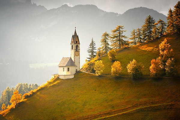 AUTUMN IN DOLOMITI by Tomas Morkes