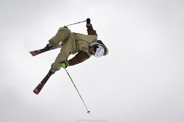 Freeystyle Skier by Markus Seidel