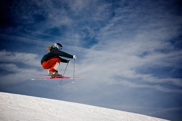 Skier by Sebastien Degardin