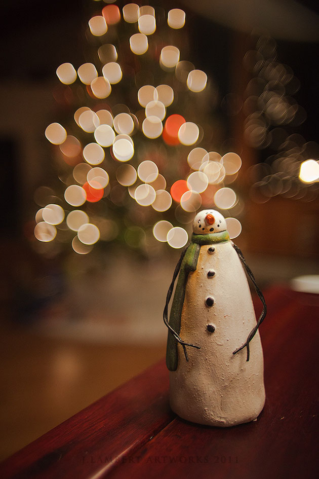 Holiday Snowman by  Jason Lambert