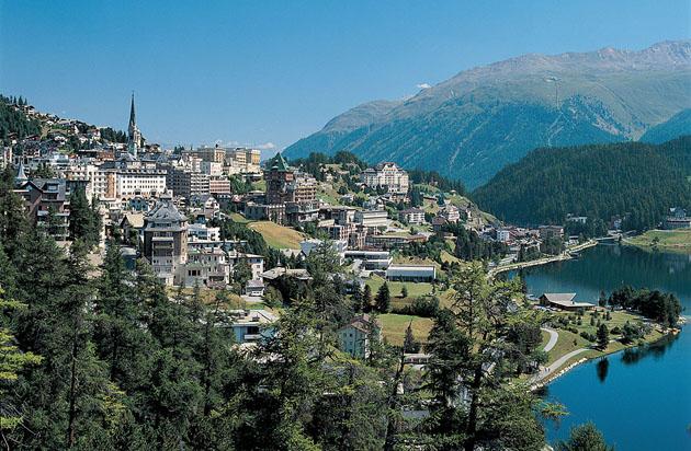 St. Moritz - summer