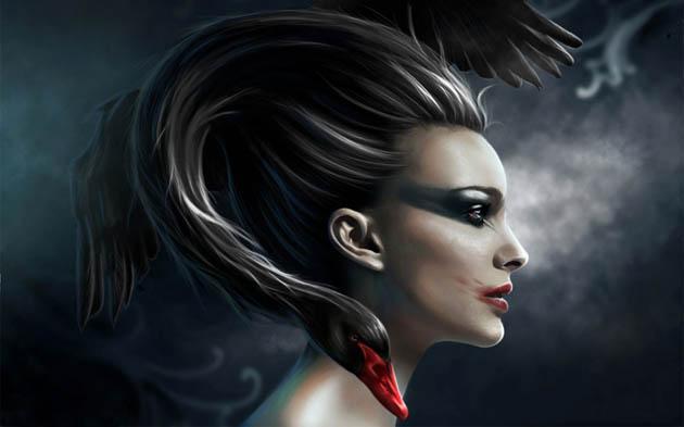 black_swan_fan_art-30 Amazing Digital Art