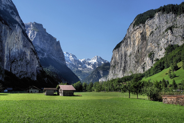 landscape switzerland