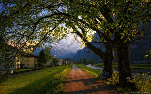 nice-evening-in-switzerland