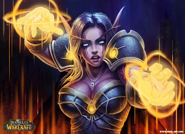 night_elf_priest_by_rogierb-30 Amazing Digital Art