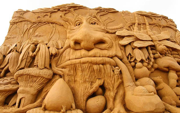 Amazing and beautiful sand sculptures (4)