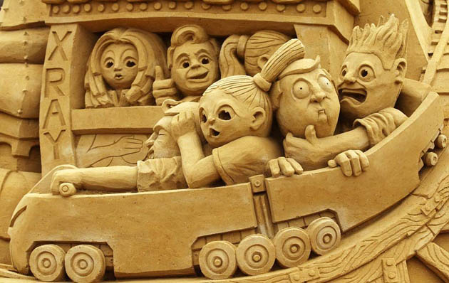 Amazing and beautiful sand sculptures (5)
