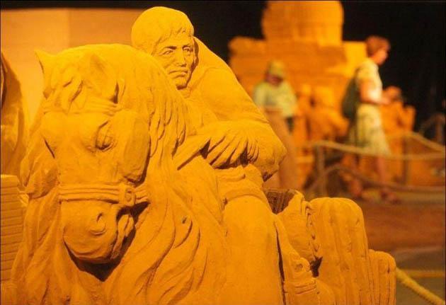 Blankenberge Sand Sculpture Festival 2010