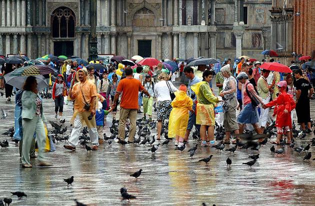Rain-in-Venice