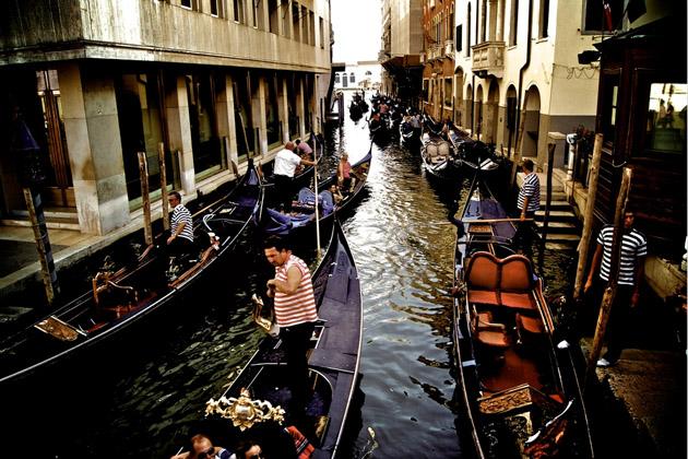 Trafic-Jams-in-Venice