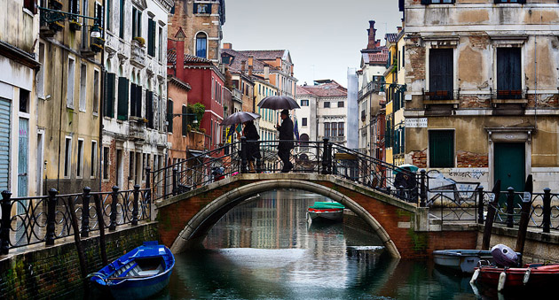 Venice-Rain-on-the-water