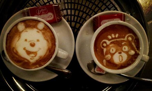20 marvellous 3d Latte Coffee Art (1)
