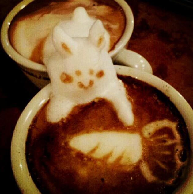 20 marvellous 3d Latte Coffee Art (12)