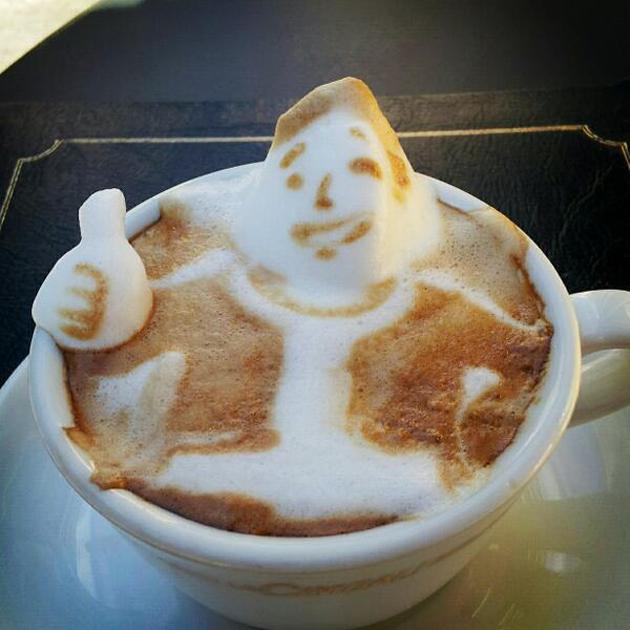 20 marvellous 3d Latte Coffee Art (13)