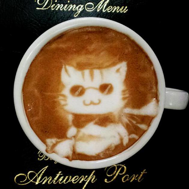 20 marvellous 3d Latte Coffee Art (15)