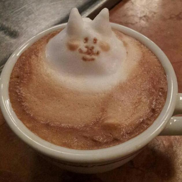 20 marvellous 3d Latte Coffee Art (17)