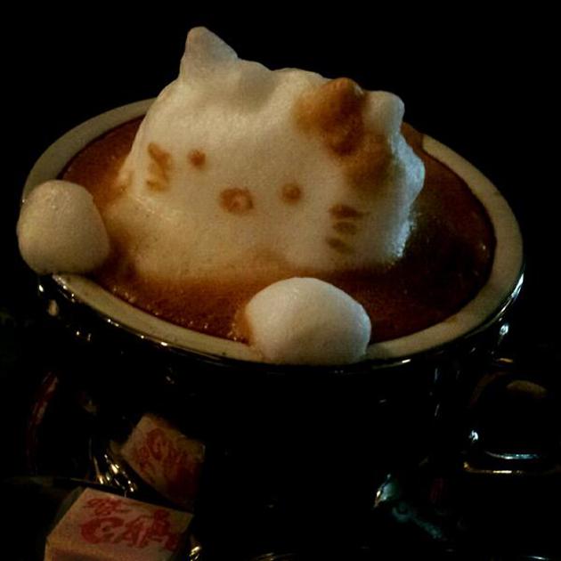 20 marvellous 3d Latte Coffee Art (3)