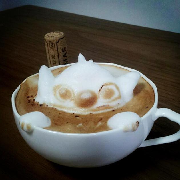 20 marvellous 3d Latte Coffee Art (4)