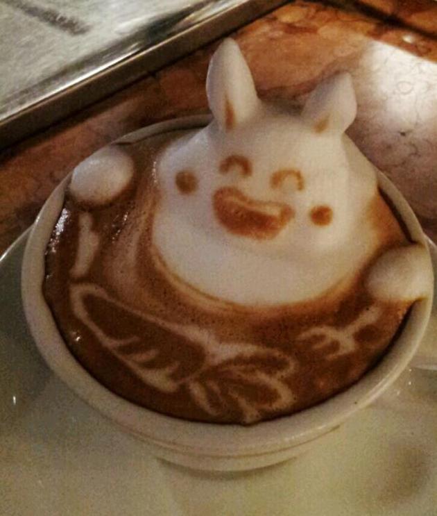 20 marvellous 3d Latte Coffee Art (5)