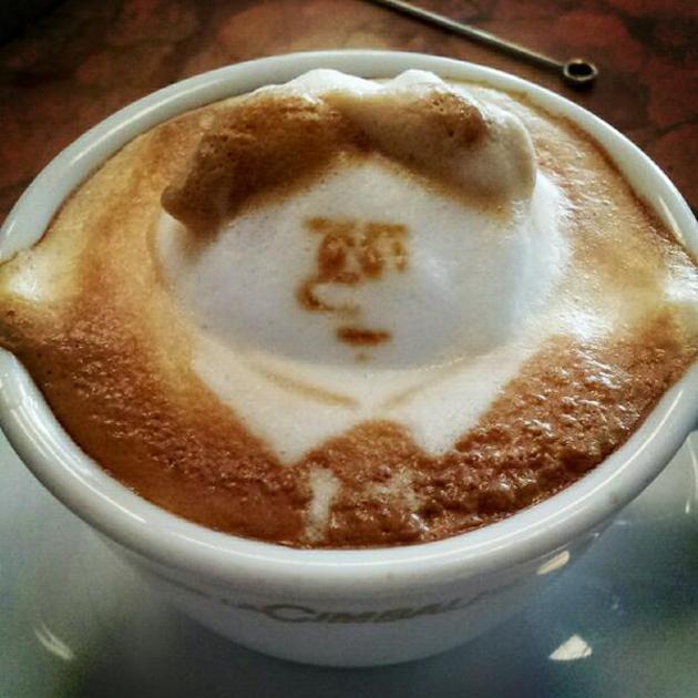 20 marvellous 3d Latte Coffee Art (7)
