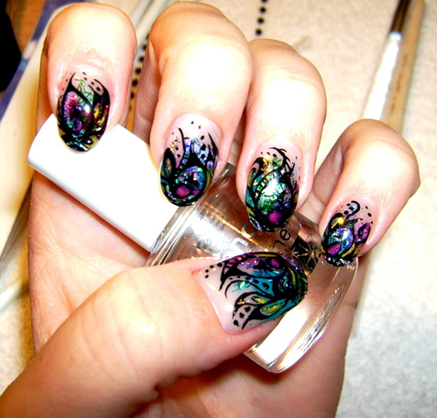 21 Beautiful Nail Art Ideas (12)