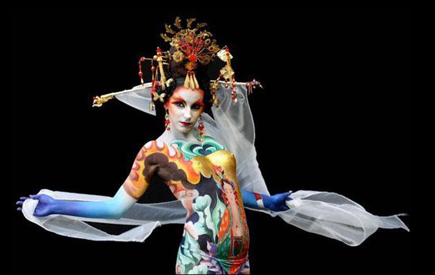 Beautiful Body Painting Artwork (12)