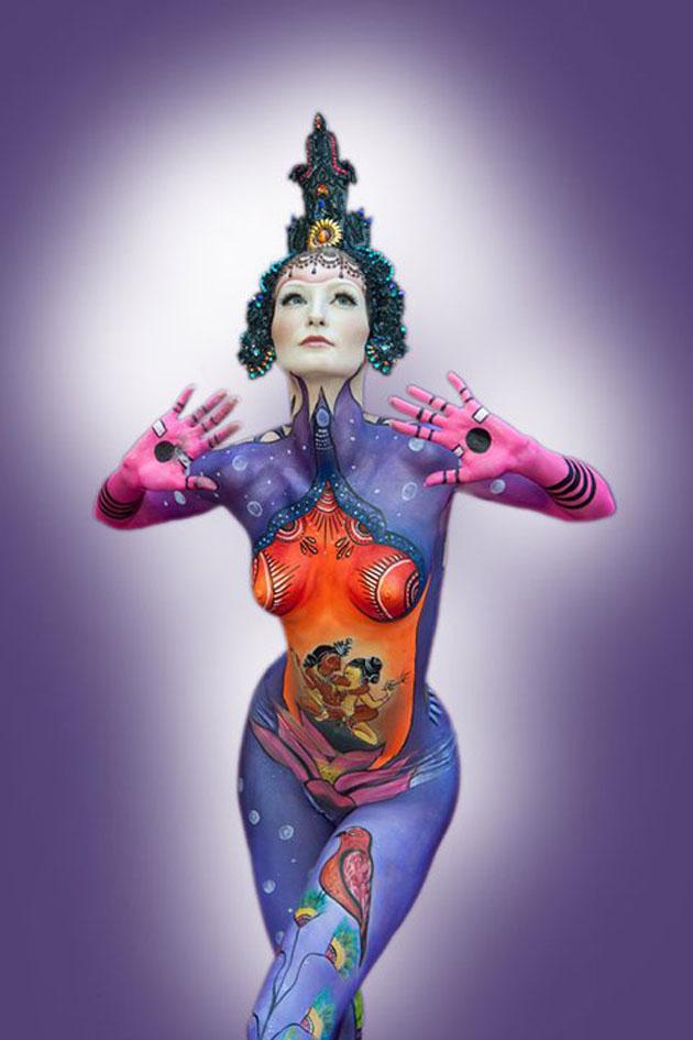 Beautiful Body Painting Artwork (19)