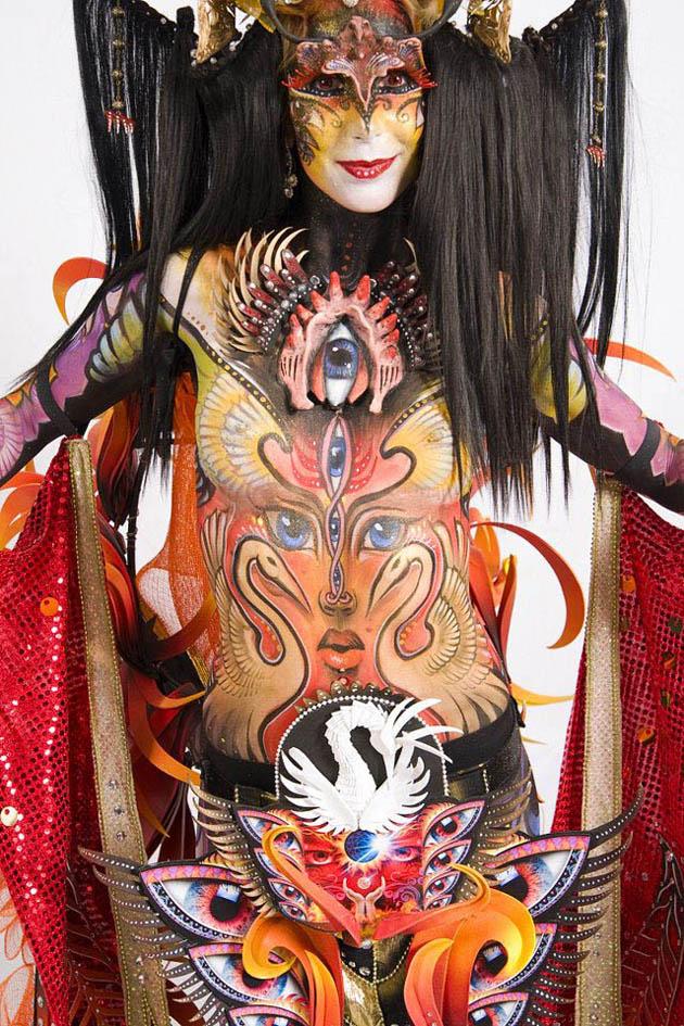 Beautiful Body Painting Artwork (21)