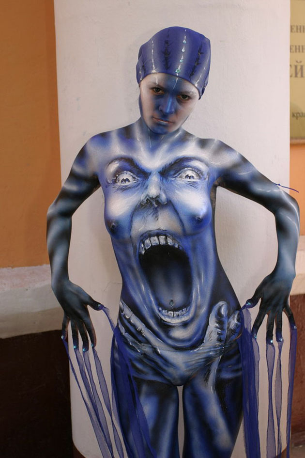 Beautiful Body Painting Artwork (5)