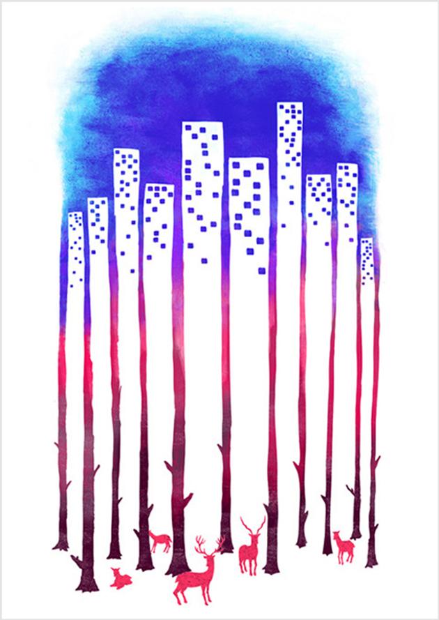 Creative Artwork On Negative Space (11)