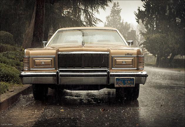 Mercury bellow rain