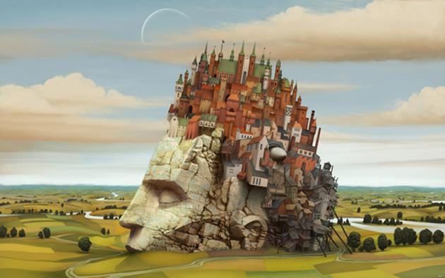City-inside-my-head-Wallpaper