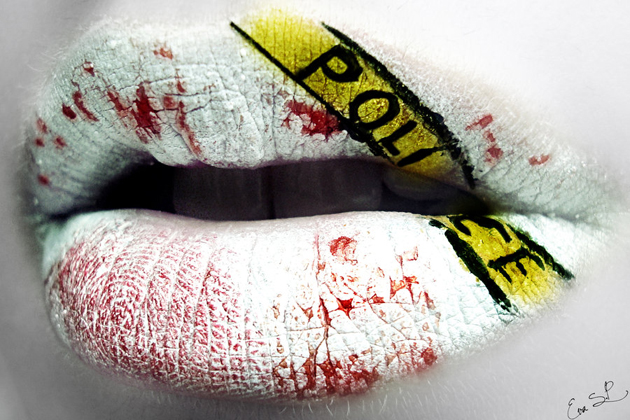 Crime-Scene-lip-art