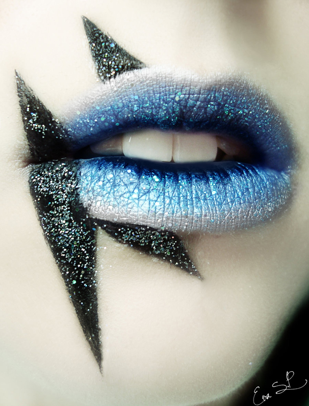 Lady-Gaga-inspired-lips