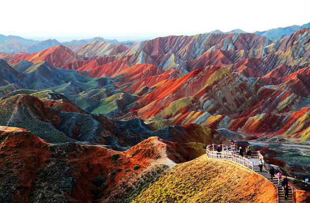 Zhangye-Danxia-Landform-China