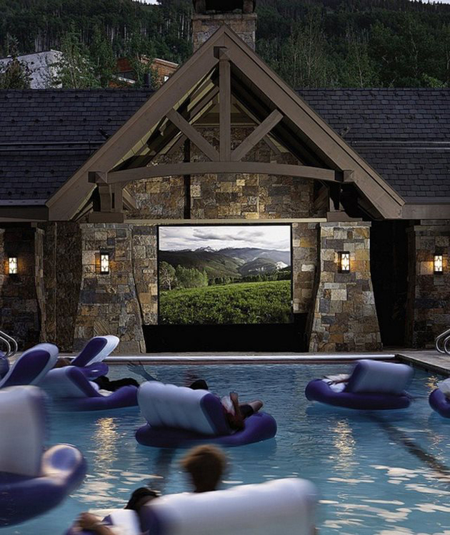 Floating-in-a-swimming-pool-movie-theater