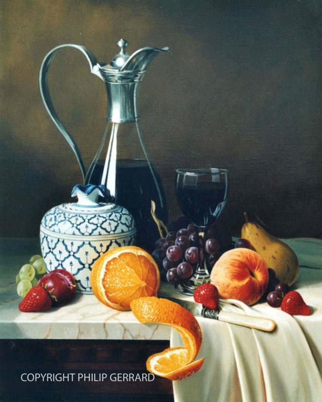 Oil Painting of Philip Gerrard (1)