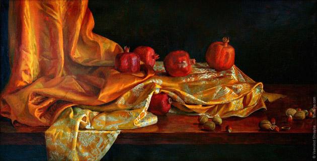 Oil Painting of Philip Gerrard (11)